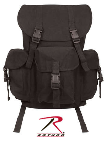 CANVAS OUTFITTER BACKPACK - BLACK